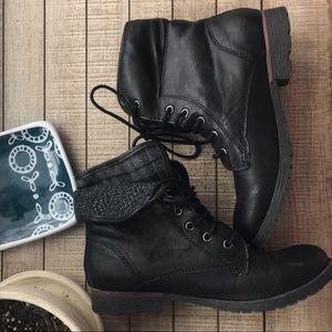 Shoes - Rock & Candy black combat boots